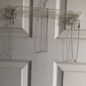 Set of 3 Gold Chokers from Claire's